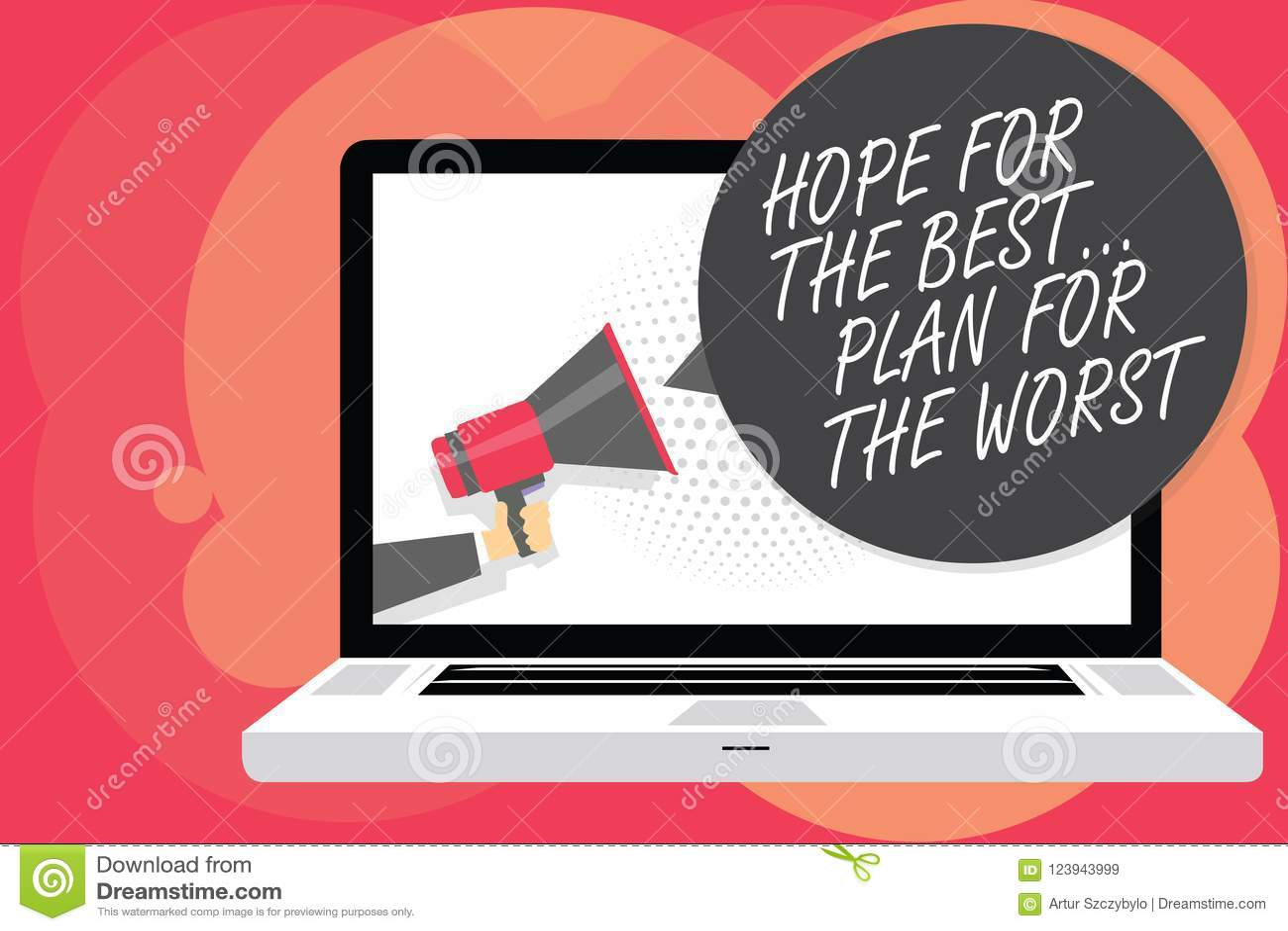 Słowa writing teksta nadzieja Dla Best Plan Dla Złego Biznesowego pojęcia dla Robić planów dobrych i złe możliwości Obsługujemy m