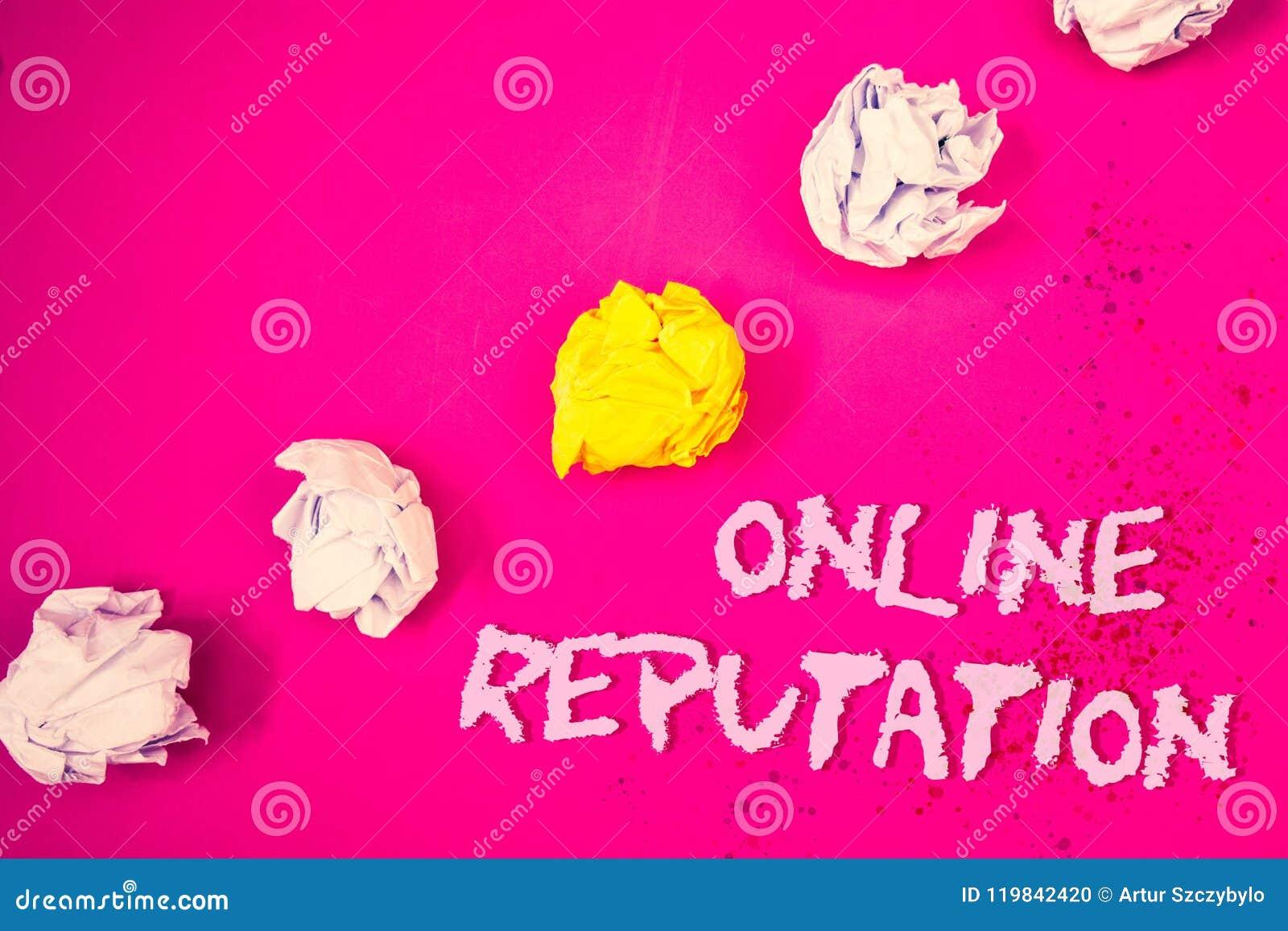 Słowa writing teksta Online reputacja Biznesowy pojęcie dla niezawodność rankingu przeglądu satysfakci ilości Szacunkowych słów r