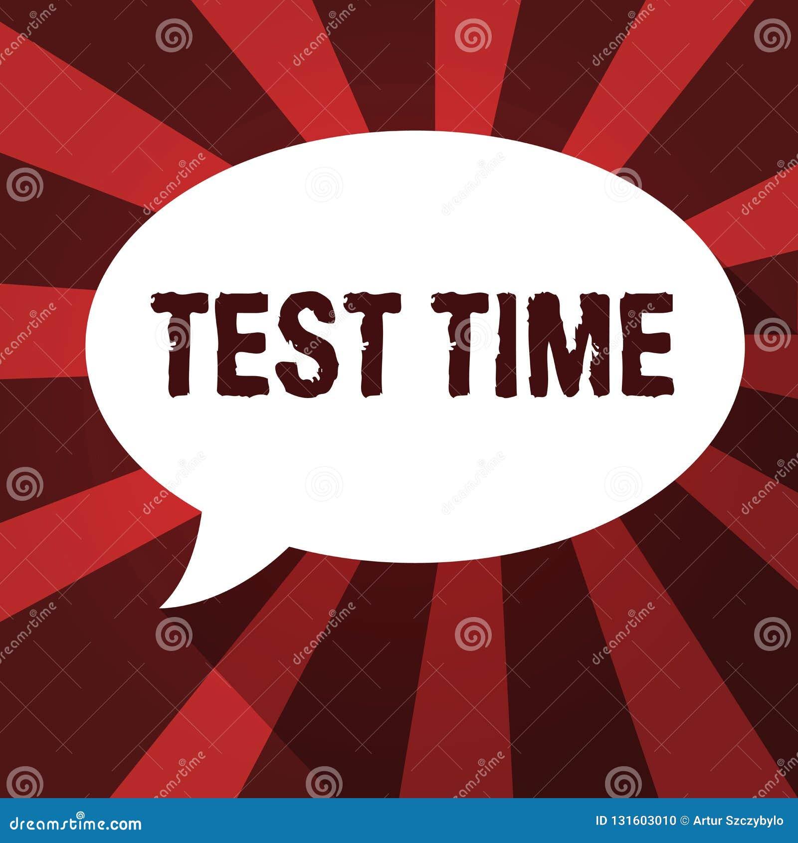 Słowa writing teksta testa czas Biznesowy pojęcie dla momentu brać egzaminacyjny stopień wiedzy lekcyjnego uczył się