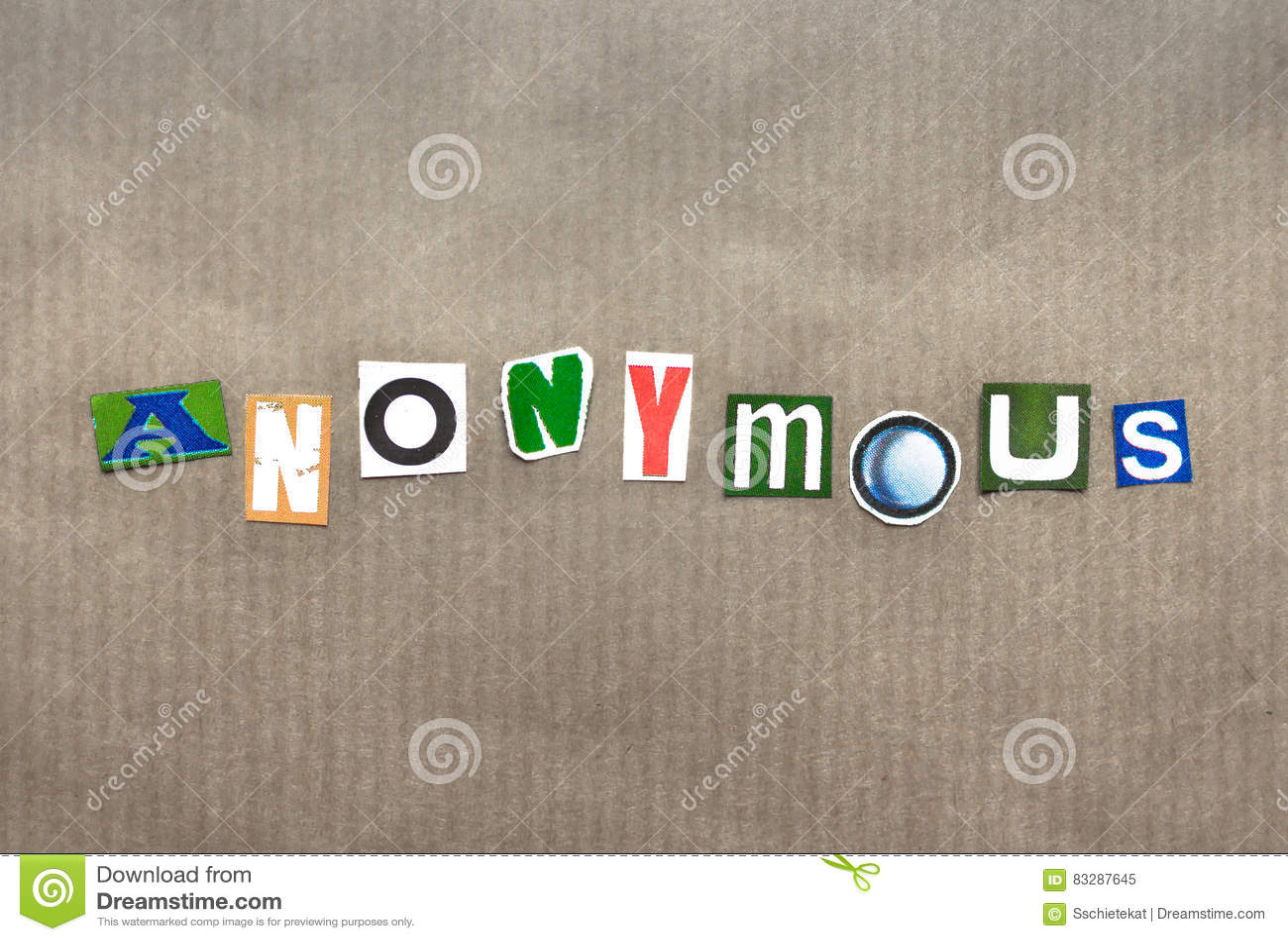 Słowo anonimowy
