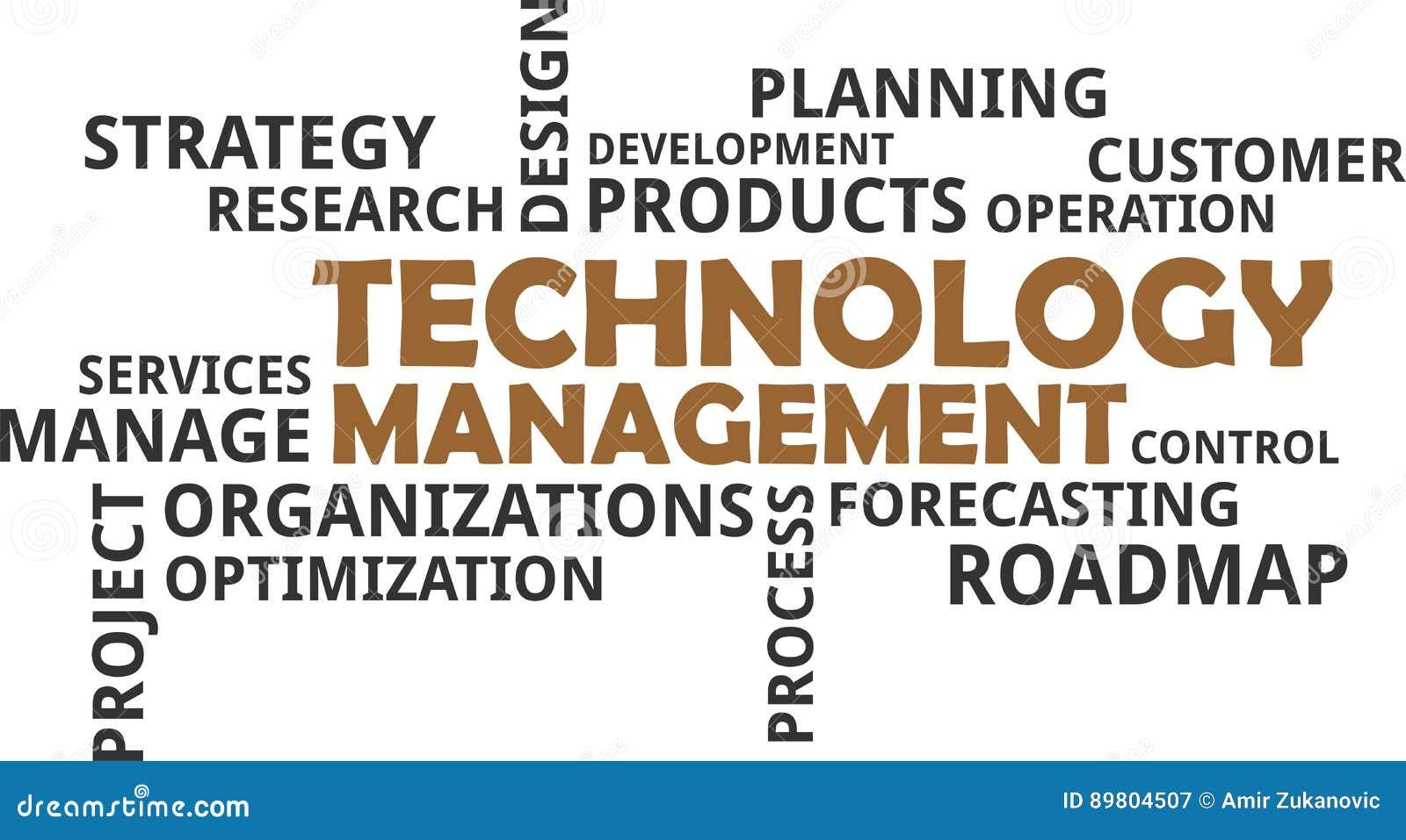 Słowo chmura - technologii zarządzanie