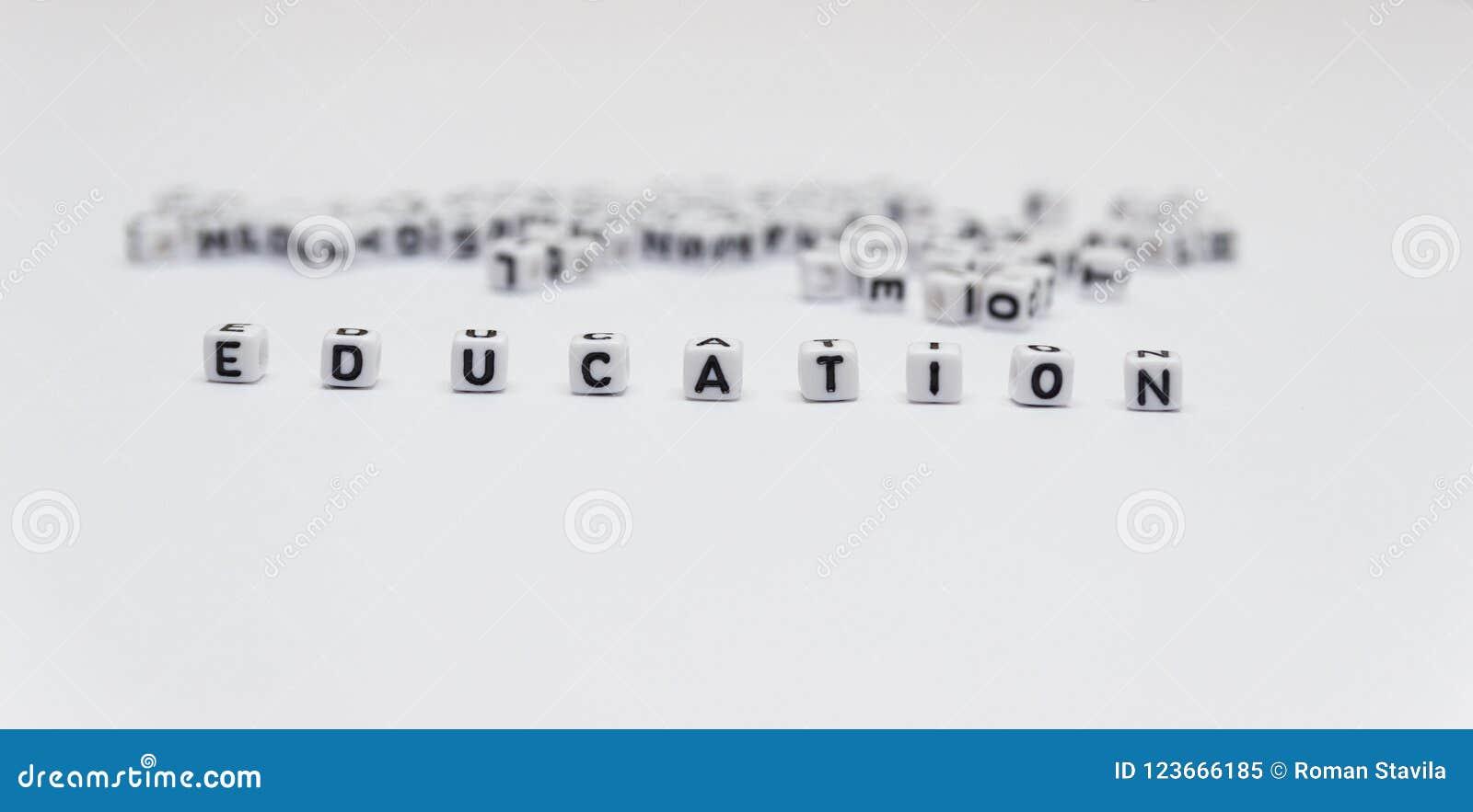 Słowo edukacja
