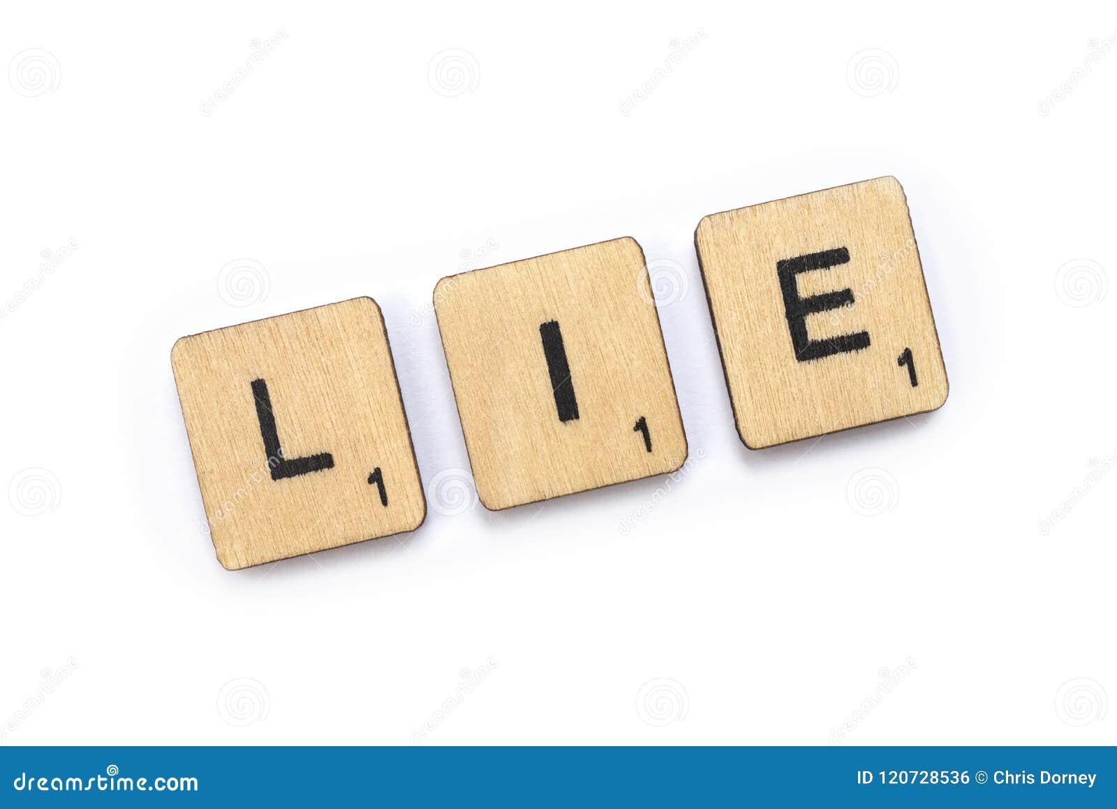Słowo kłamstwo