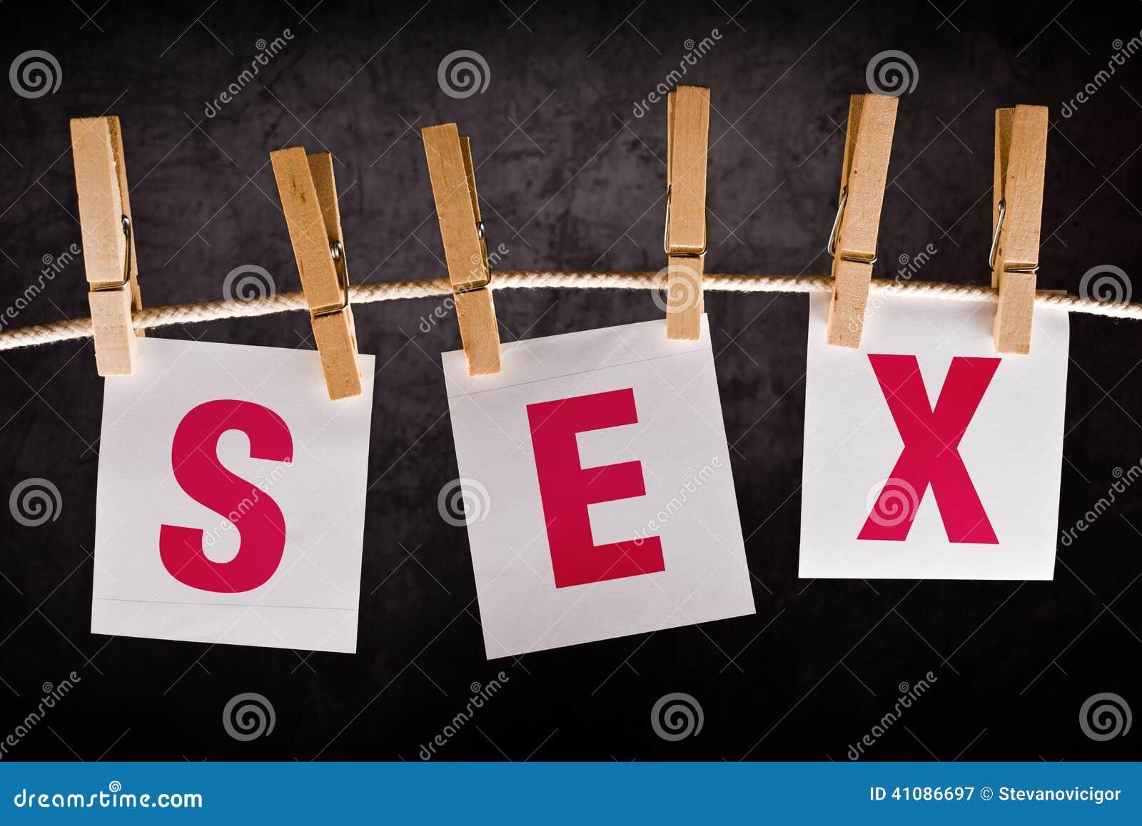 Słowo płeć na notatka papierze