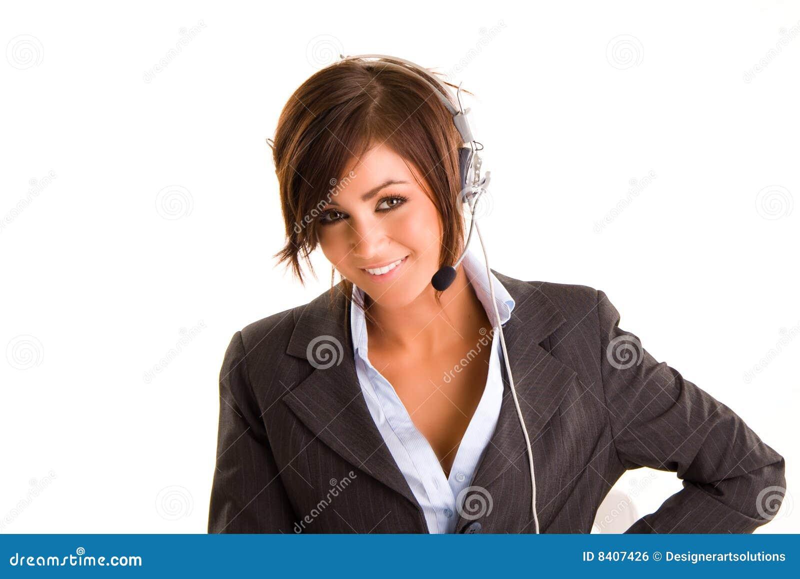 Słuchawki kobieta
