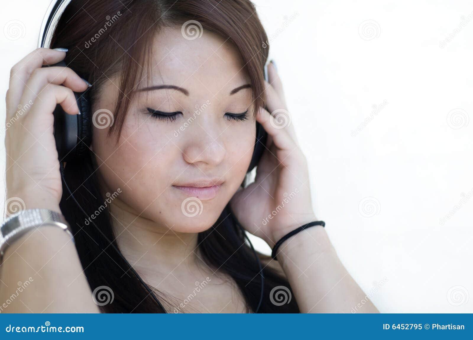 Słyszałem głowy muzyka telefony kobieta