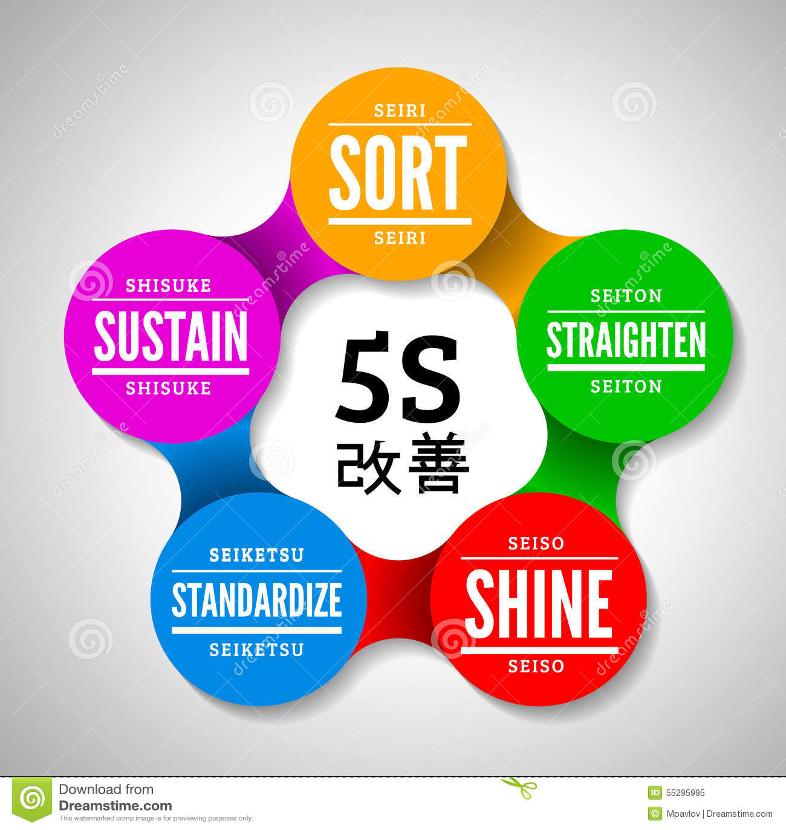 5S方法学kaizen从日本的管理