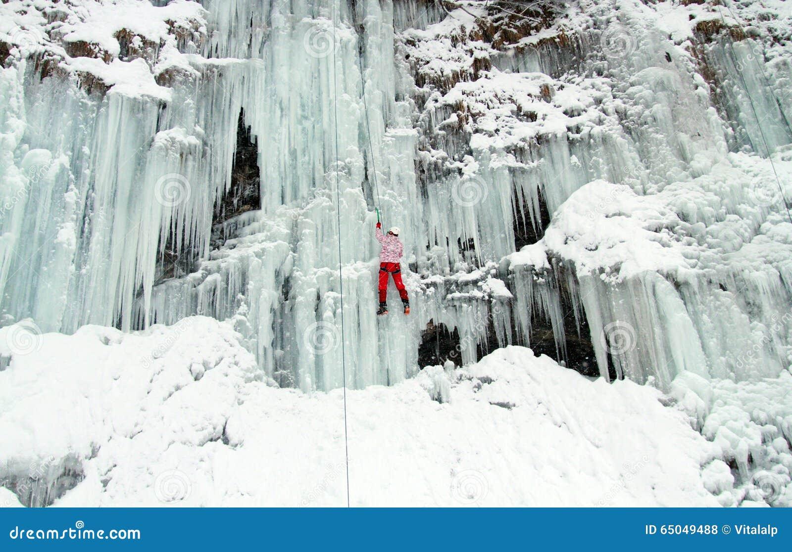 S élever de glace