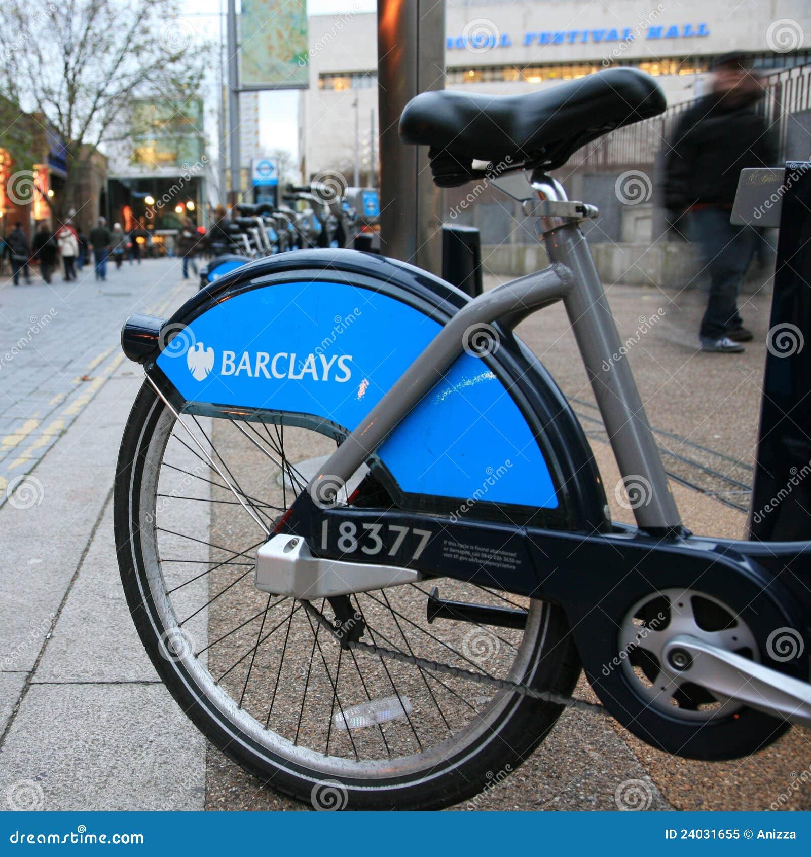 骑自行车伦敦s模式共享