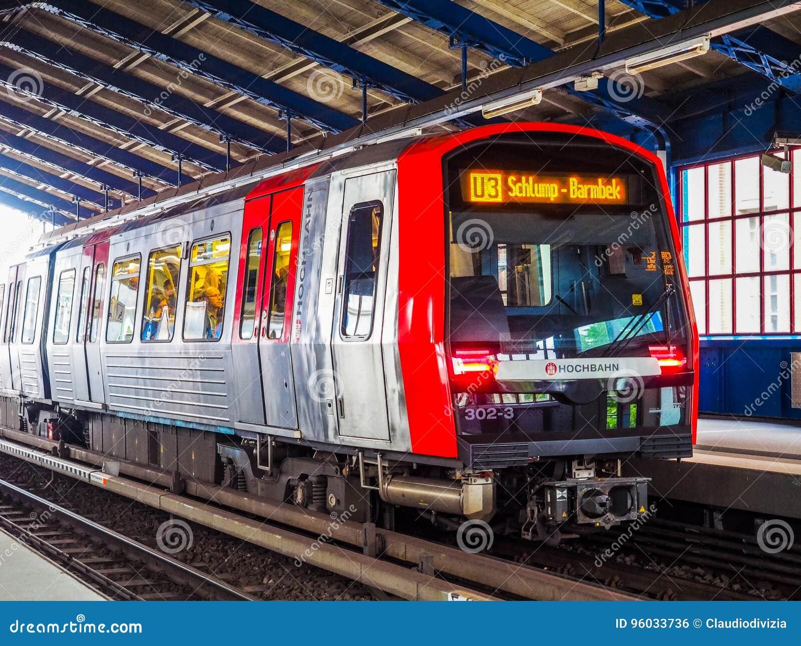 S Bahn w Hamburskim hdr (S pociąg)
