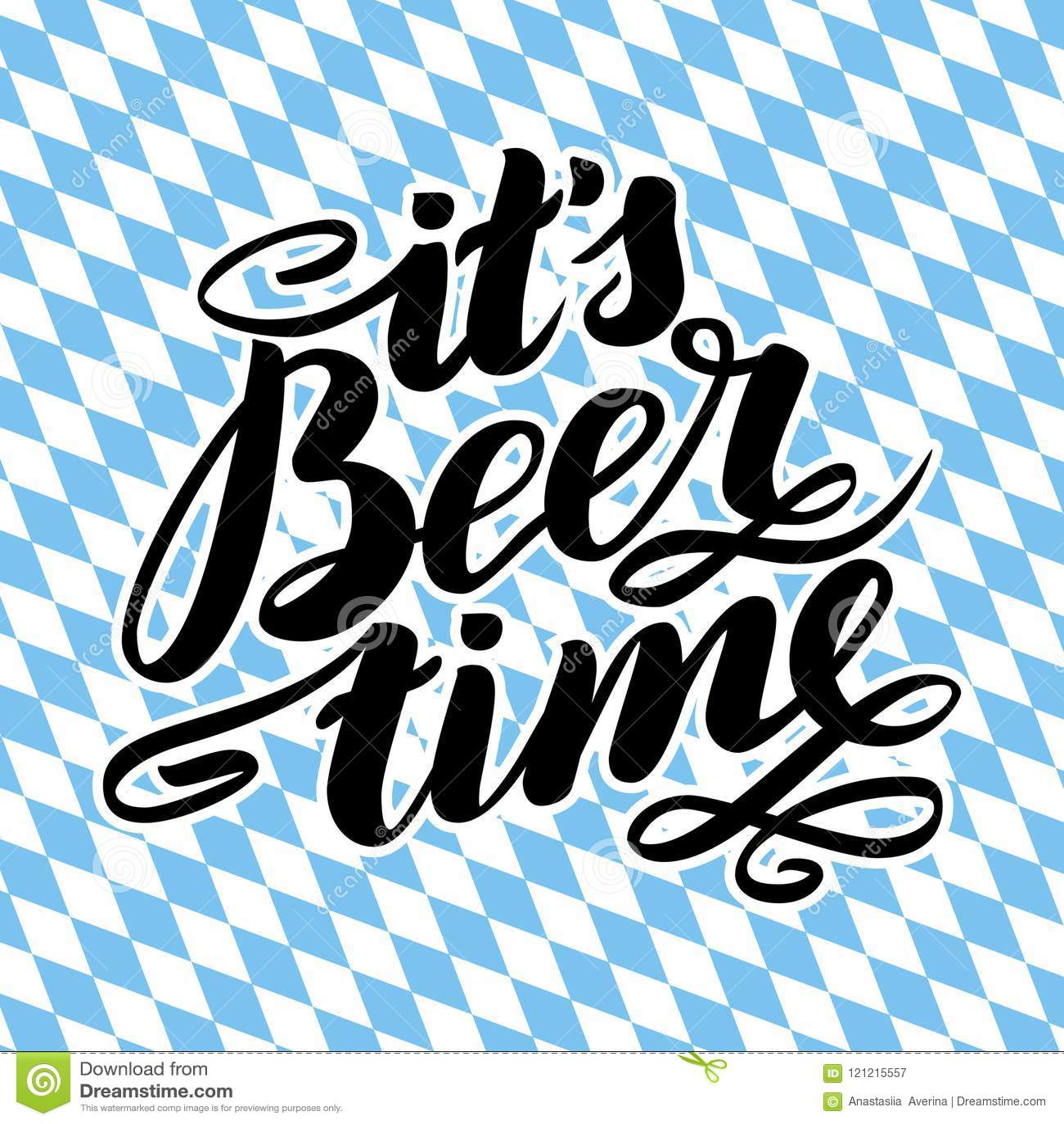 It S Beer Time  Traditional German Oktoberfest Bier Festival