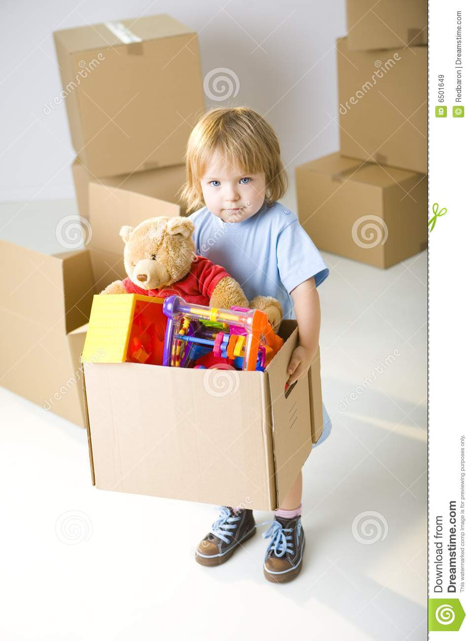 That S Box With My Toys Royalty Free Stock Images Image