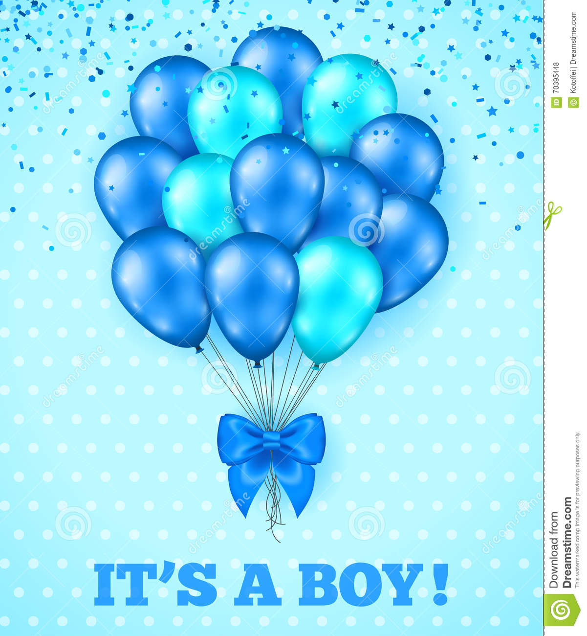 It S A Boy, Baby Shower Background