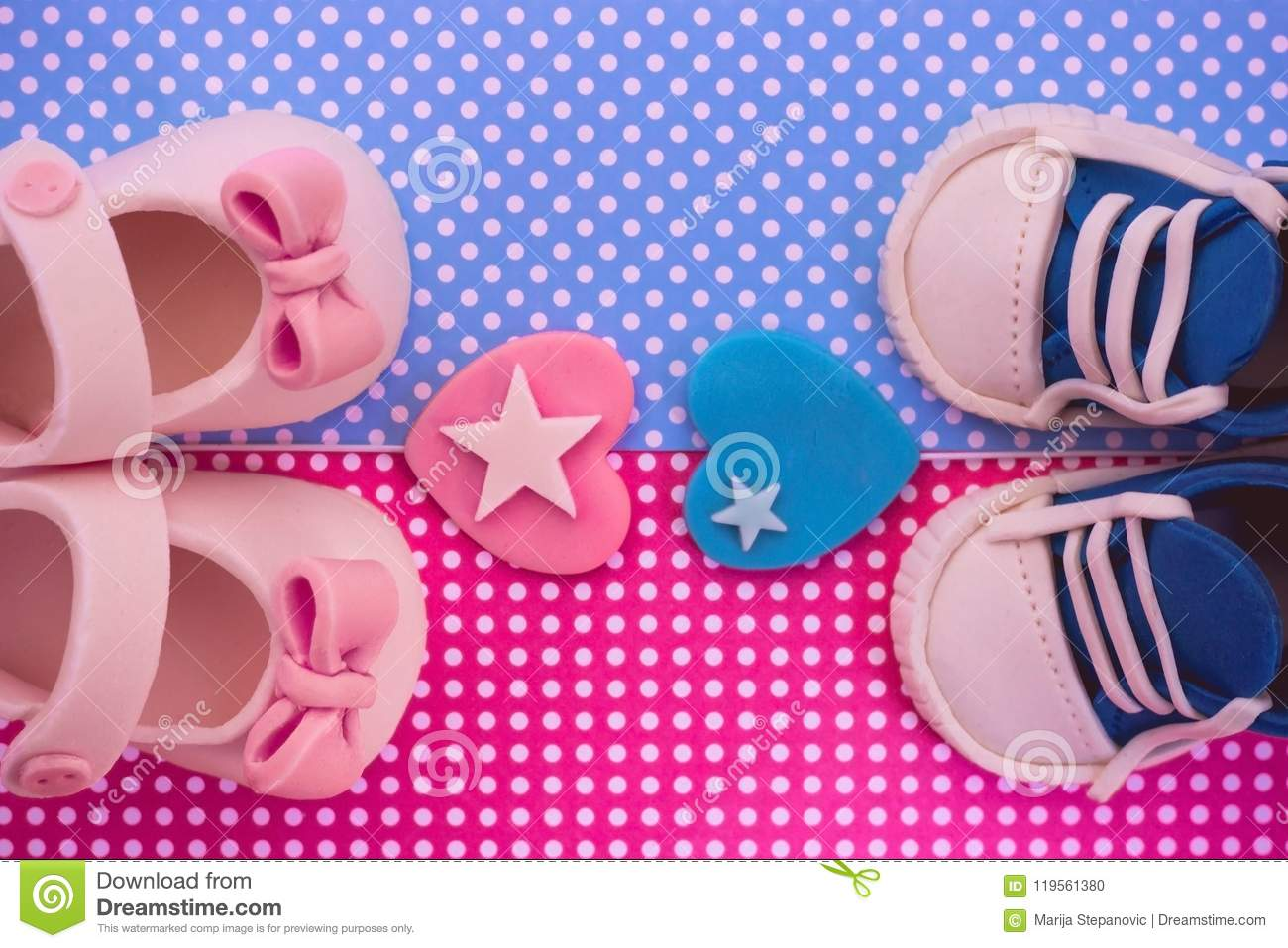 Its a boy and a girl twins baby shower invitation stock photo download its a boy and a girl twins baby shower invitation stock photo filmwisefo