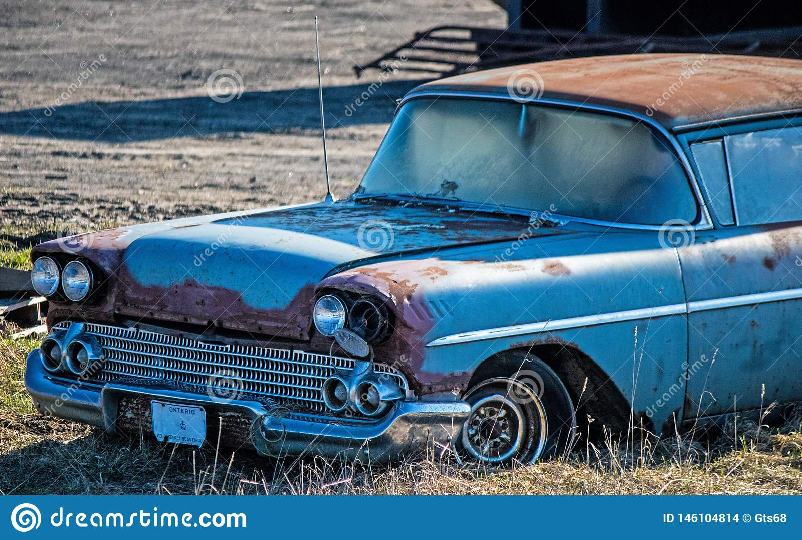 1950 S Chevrolet Delray Sitting At The Junkyard Stock Photo Image Of Days Tire 146104814