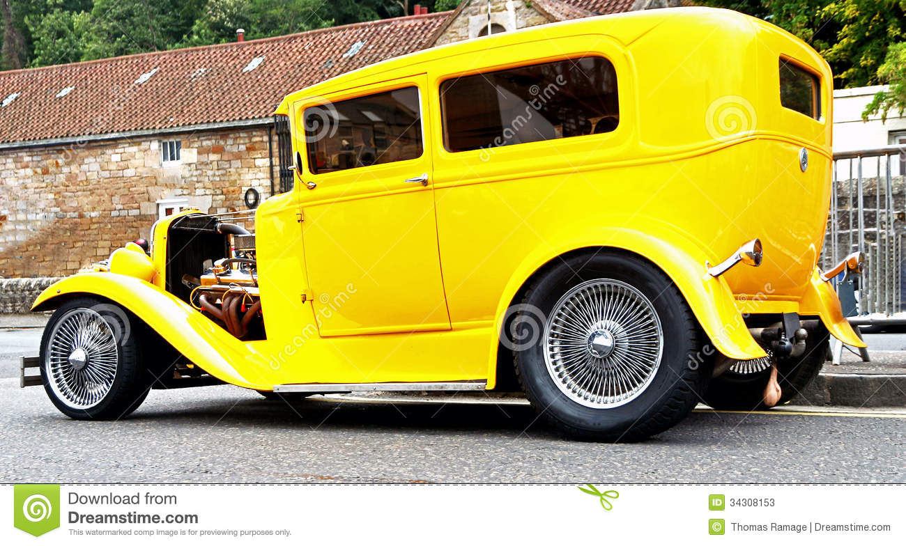 1930\'s FORD MODEL A HOTROD Stock Image - Image: 34308153
