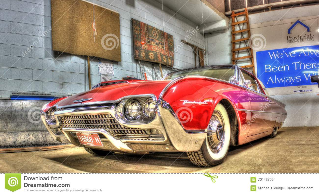 1960s ford thunderbird editorial photo image 70143706 for Classic american convertibles