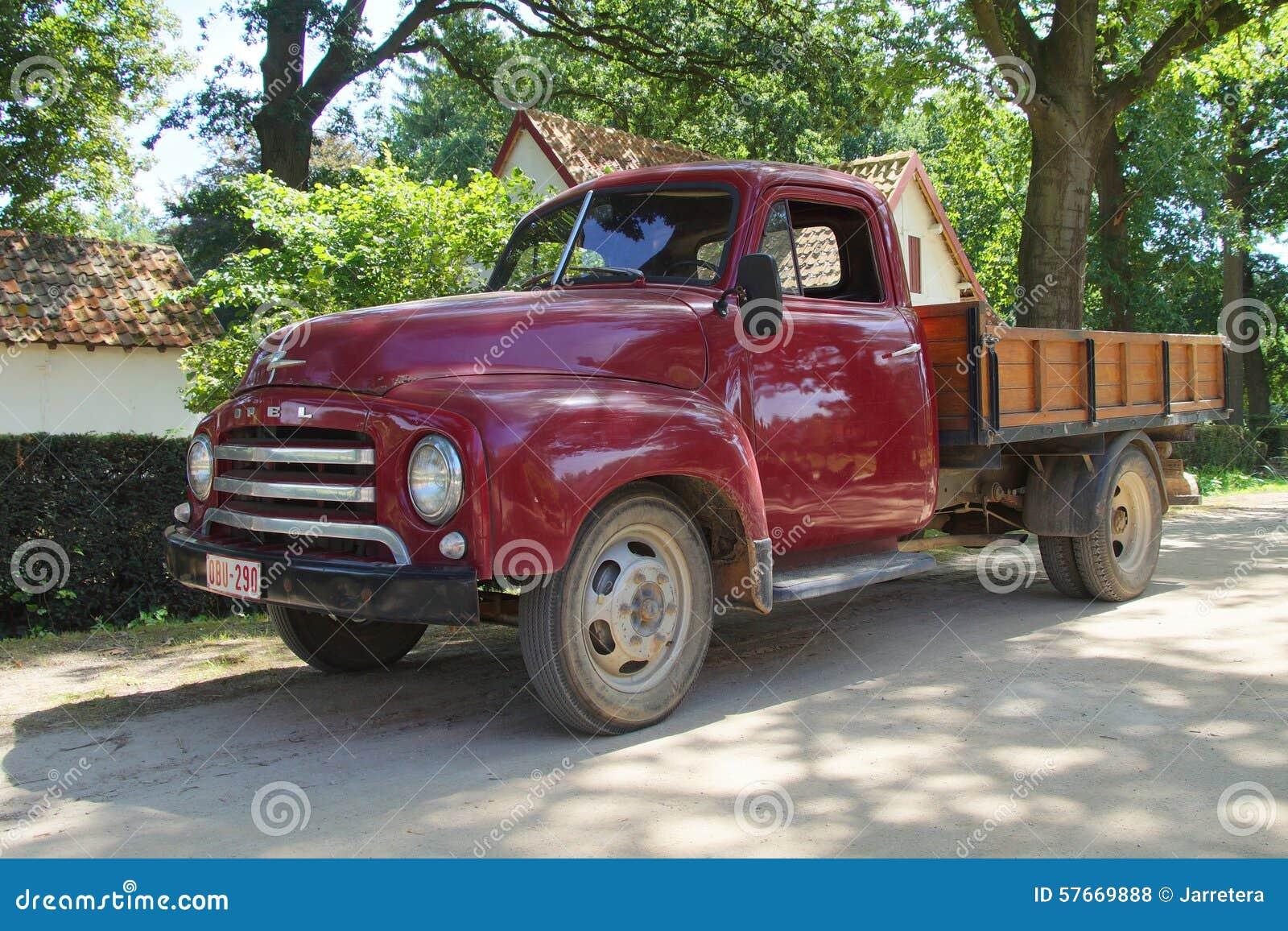 1950s furgonetka - Opel Blitz 1 75T