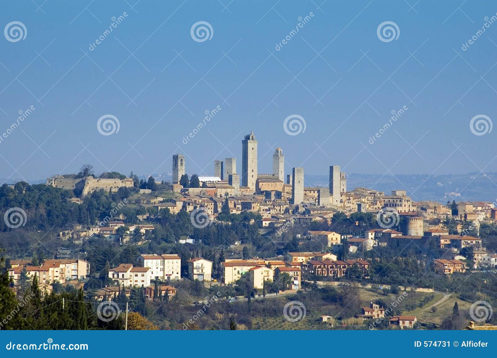 S.Gimignano, Italia