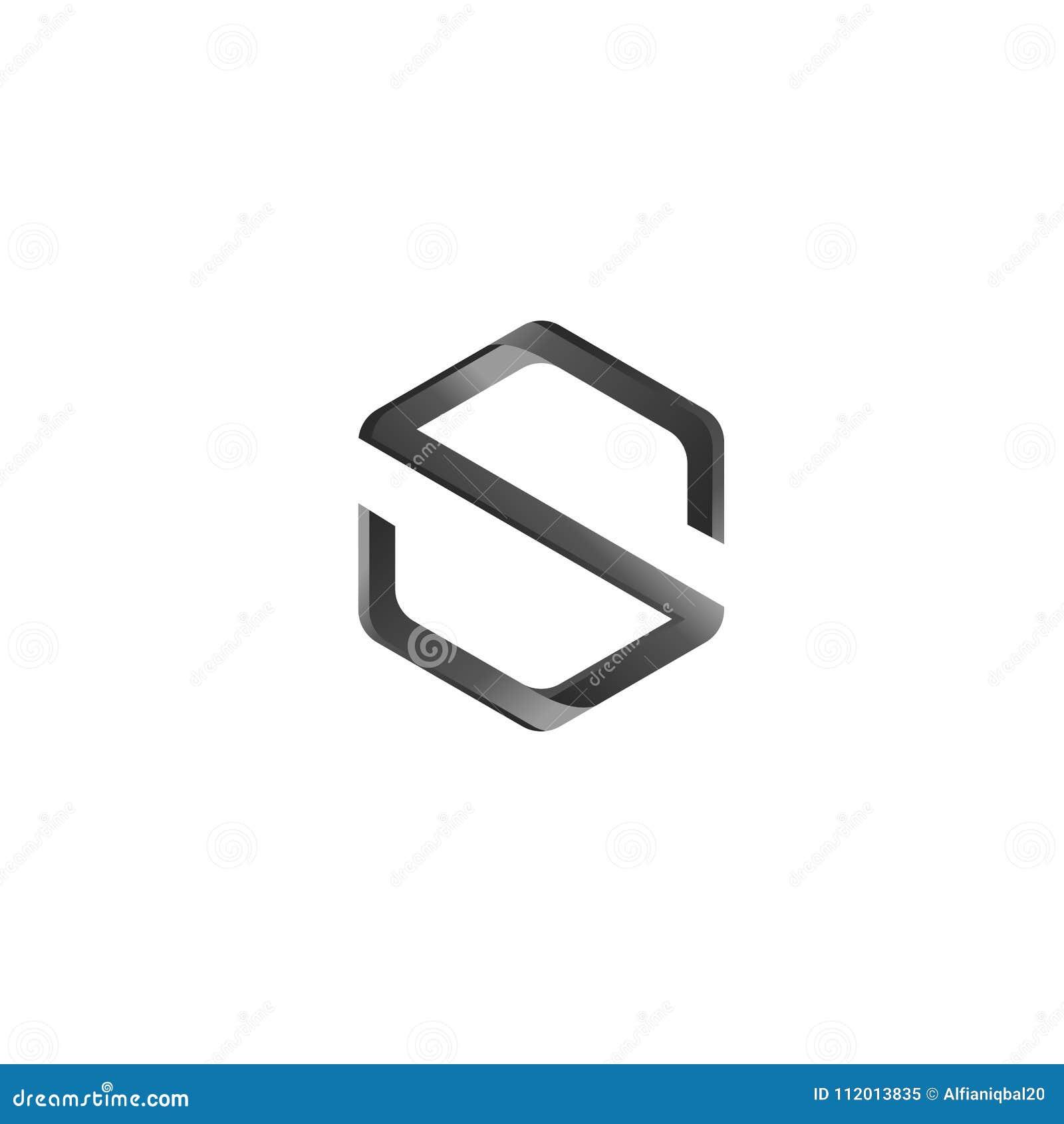 S Letter Abstract Vector Logo Design Template  Creative
