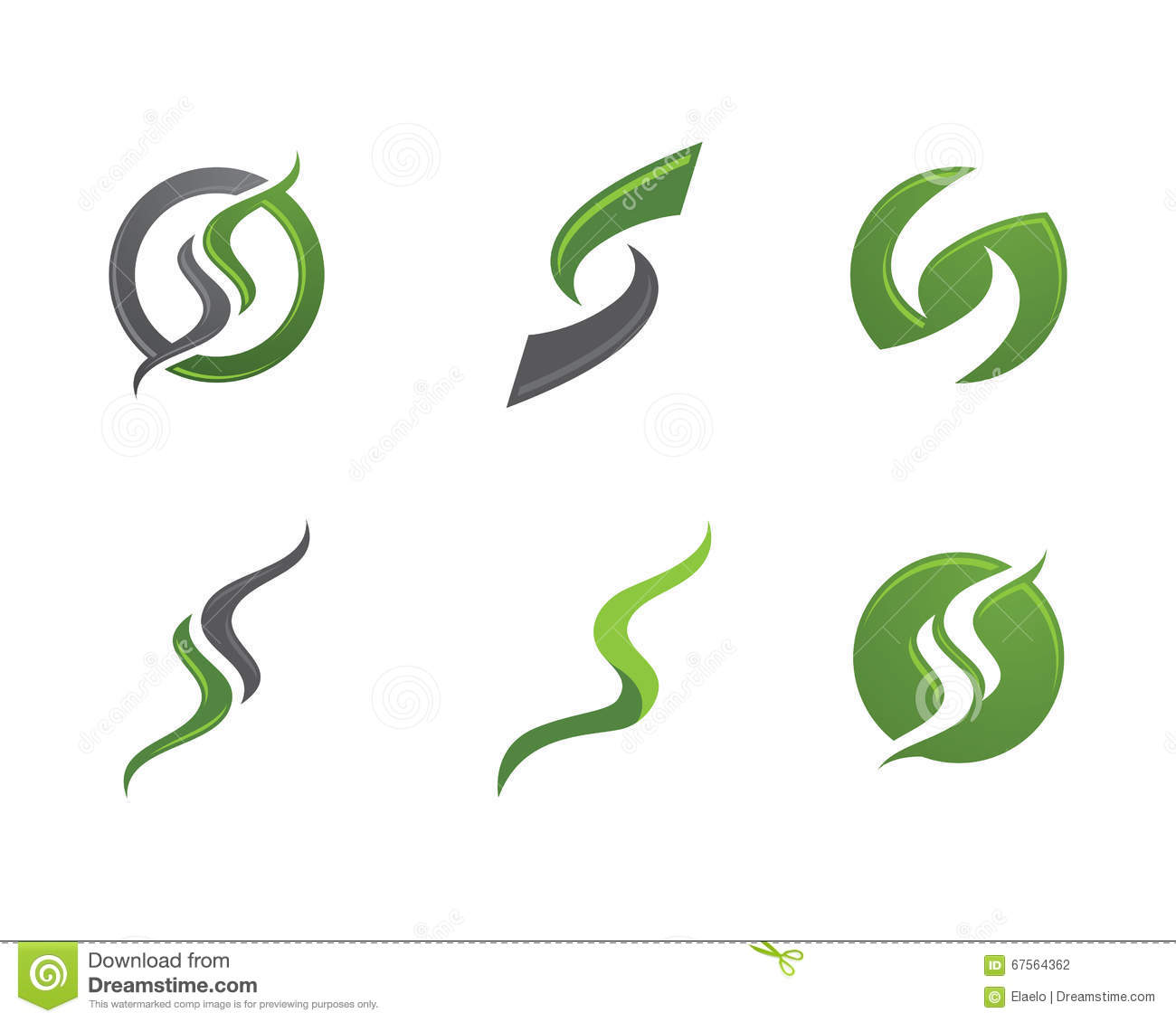 s letter and s logo stock vector image 67564362