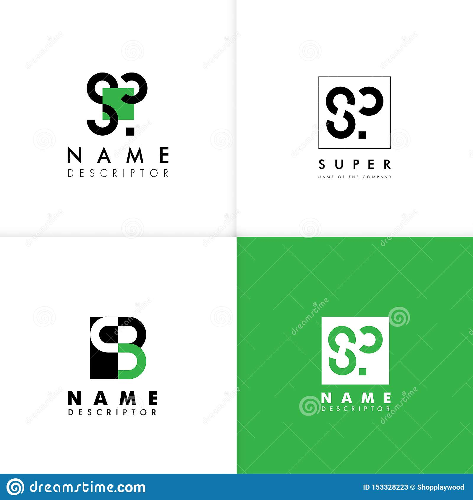 S Logo Letter Monogram Vector Design Template Stock Vector Illustration Of Abstract Elements 153328223