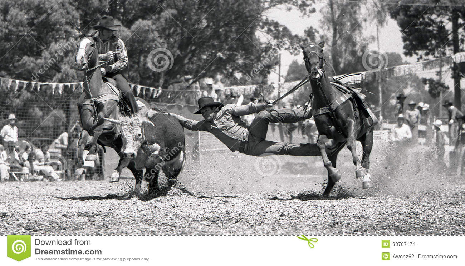 Kingaroy Australia  City new picture : ... event during a small town rodeo, circa 1980 in Kingaroy, Australia