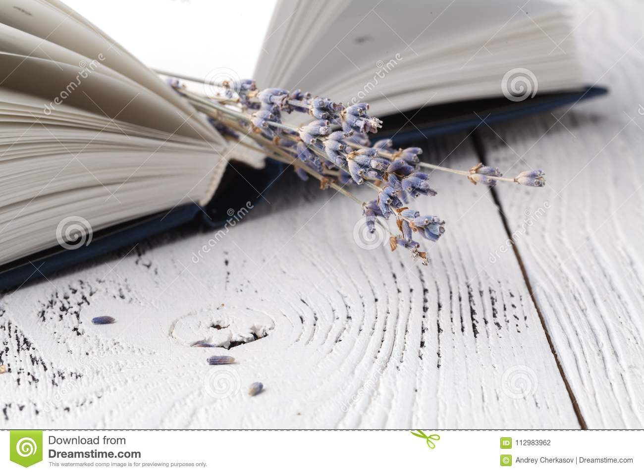It`s memories, a bouquet of dry lavender and books
