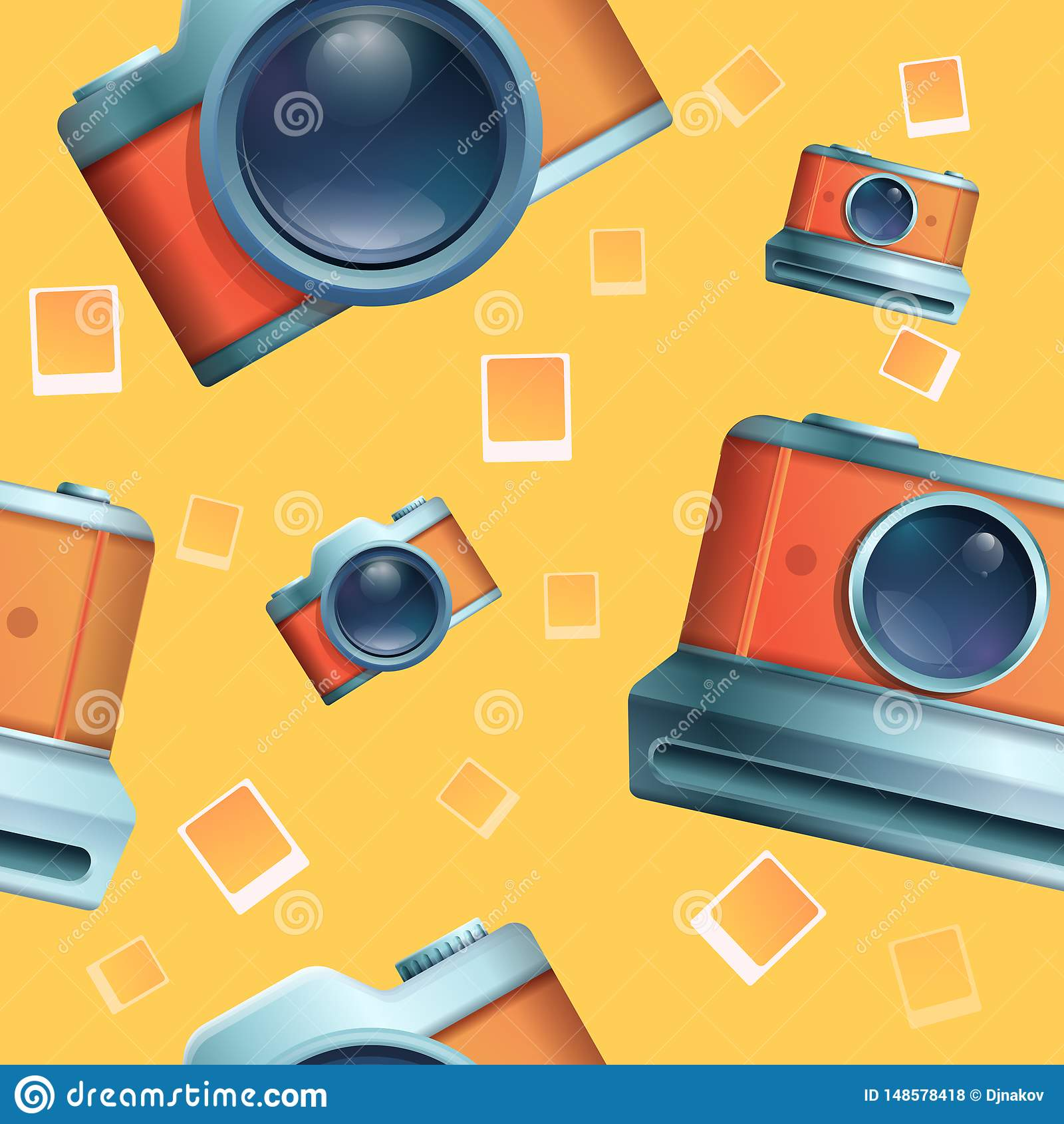 S?ml?s tecknad filmphot p? temat av tappningkameror