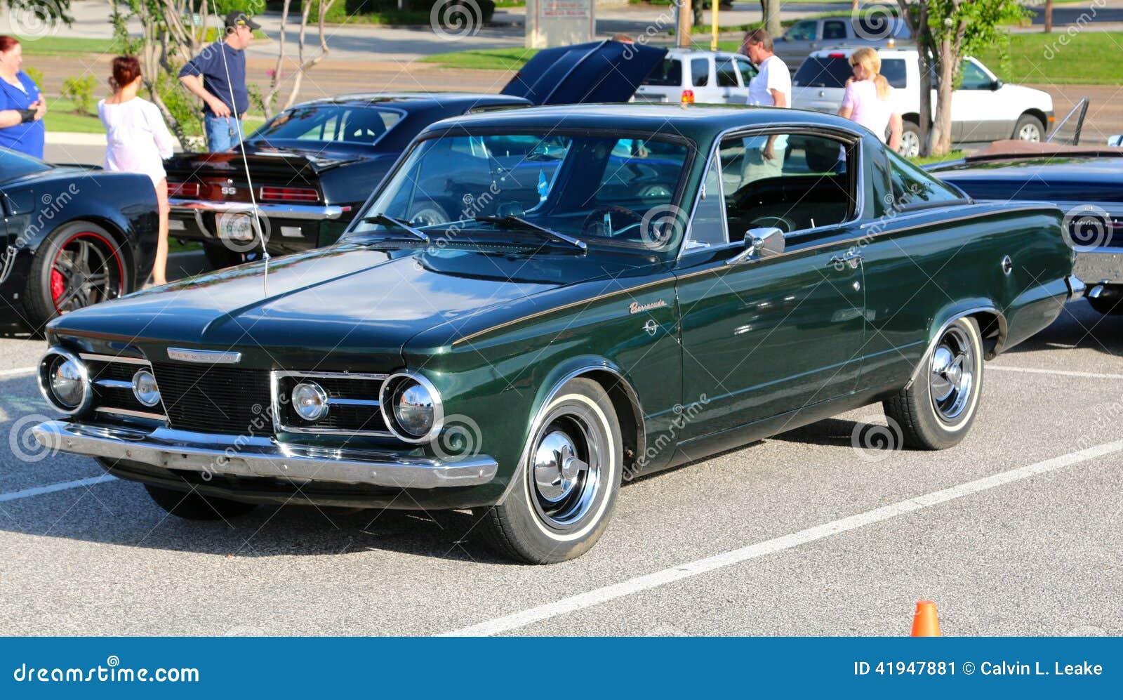 1960 s Modelują Plymouth Barracuda post Z powrotem