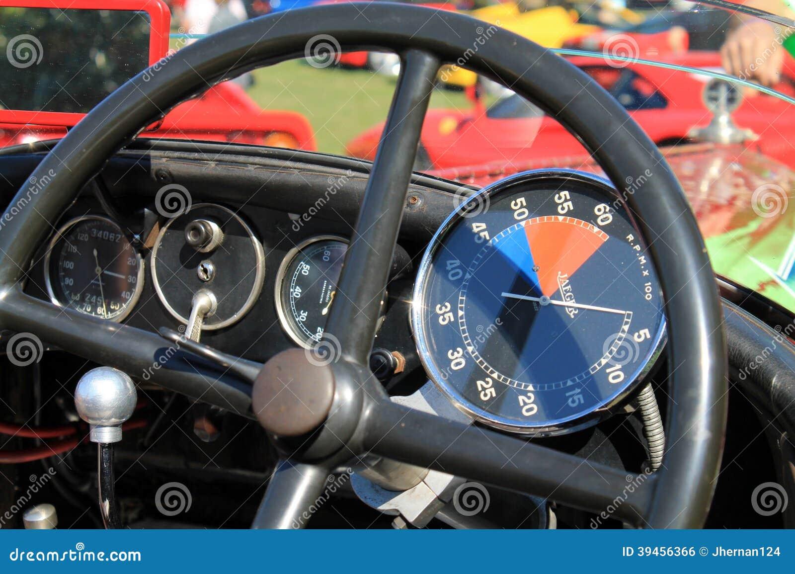1930s racer cockpit instruments editorial photo image 39456366. Black Bedroom Furniture Sets. Home Design Ideas
