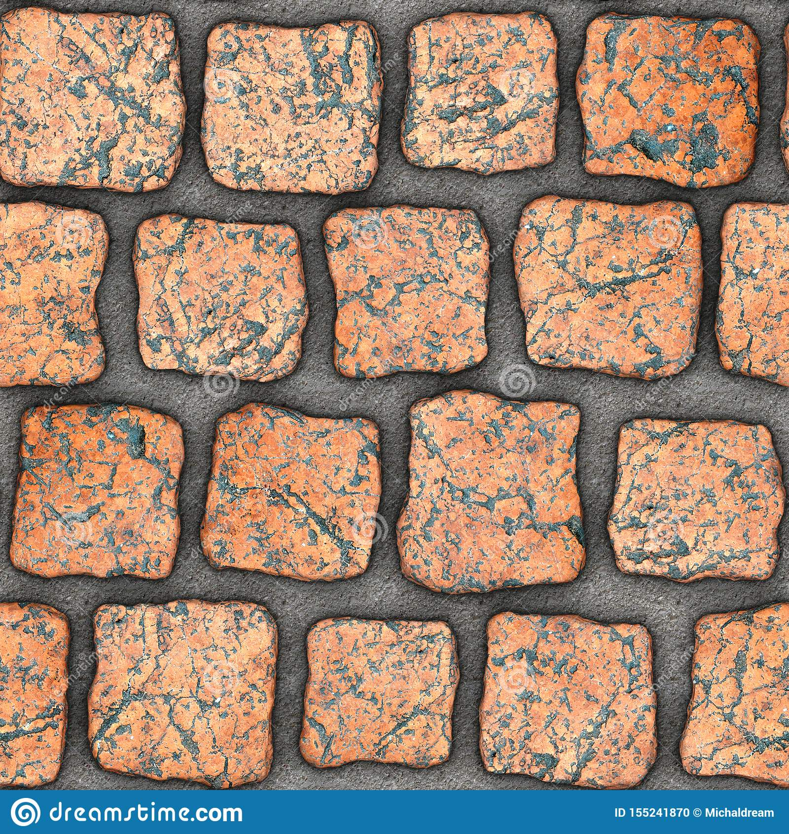 S159 Seamless texture - cobblestone pavers