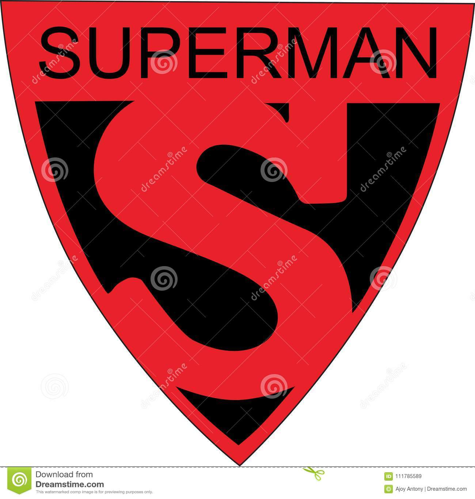 superman s symbol logo 1939 world fair editorial stock image