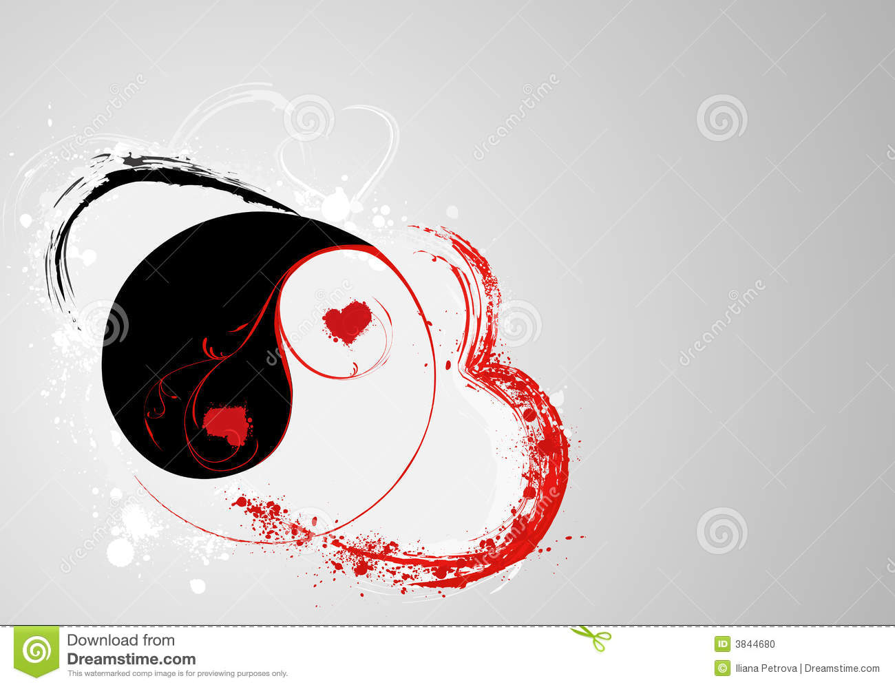 S.valentine s yin and yang
