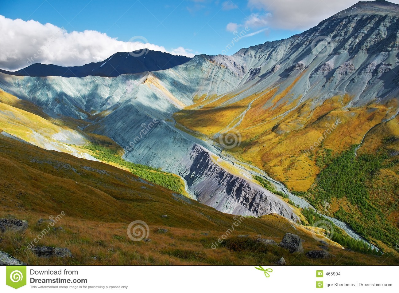 It s a very beautiful Altay mountains_01