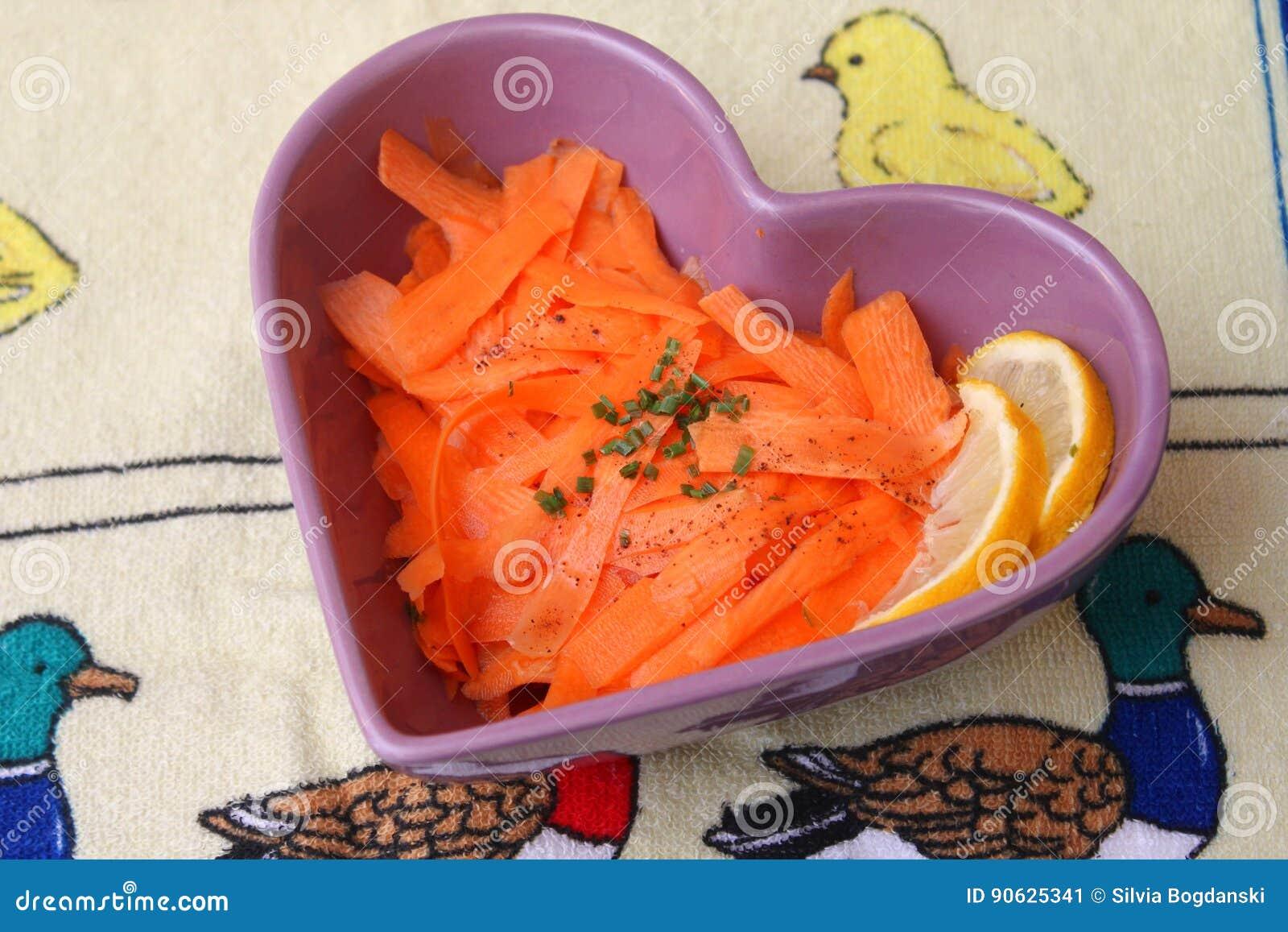 Sałatka marchewki