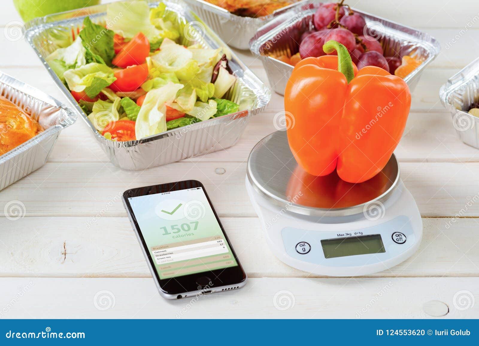 Sałatka odpierający app i kaloria