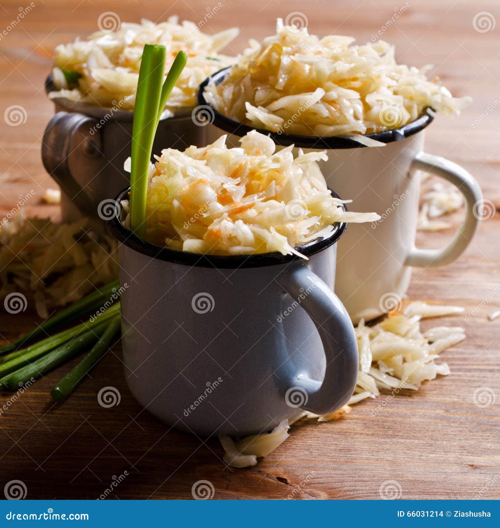 Sałatka sauerkraut