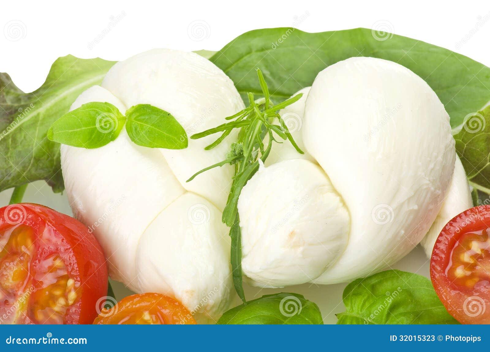 Sałatkowa mozzarella i pomidory