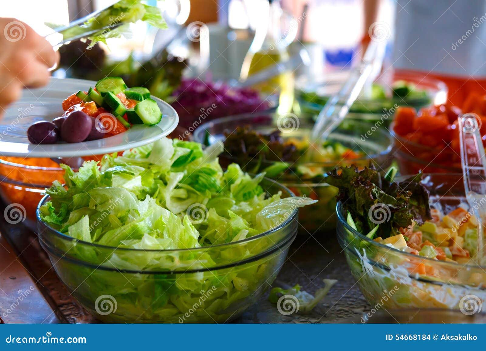 Sałatkowy bufet