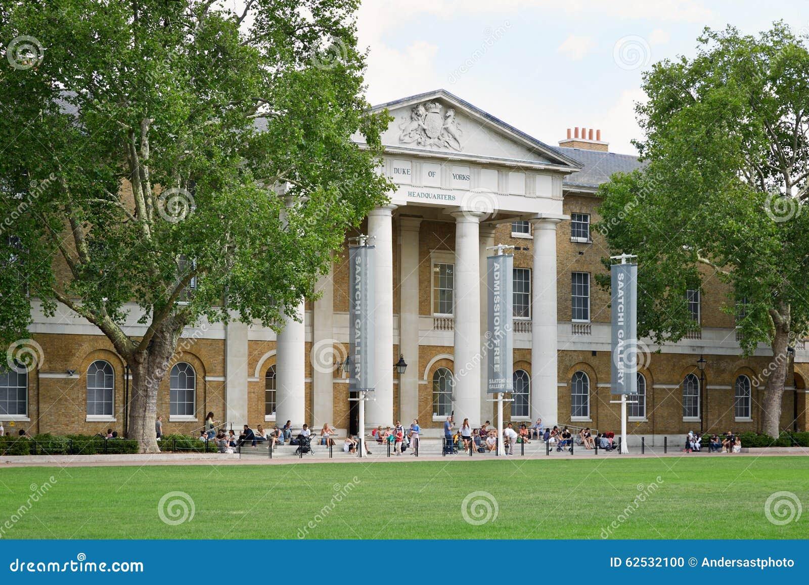Saatchi画廊,著名美术画廊在伦敦