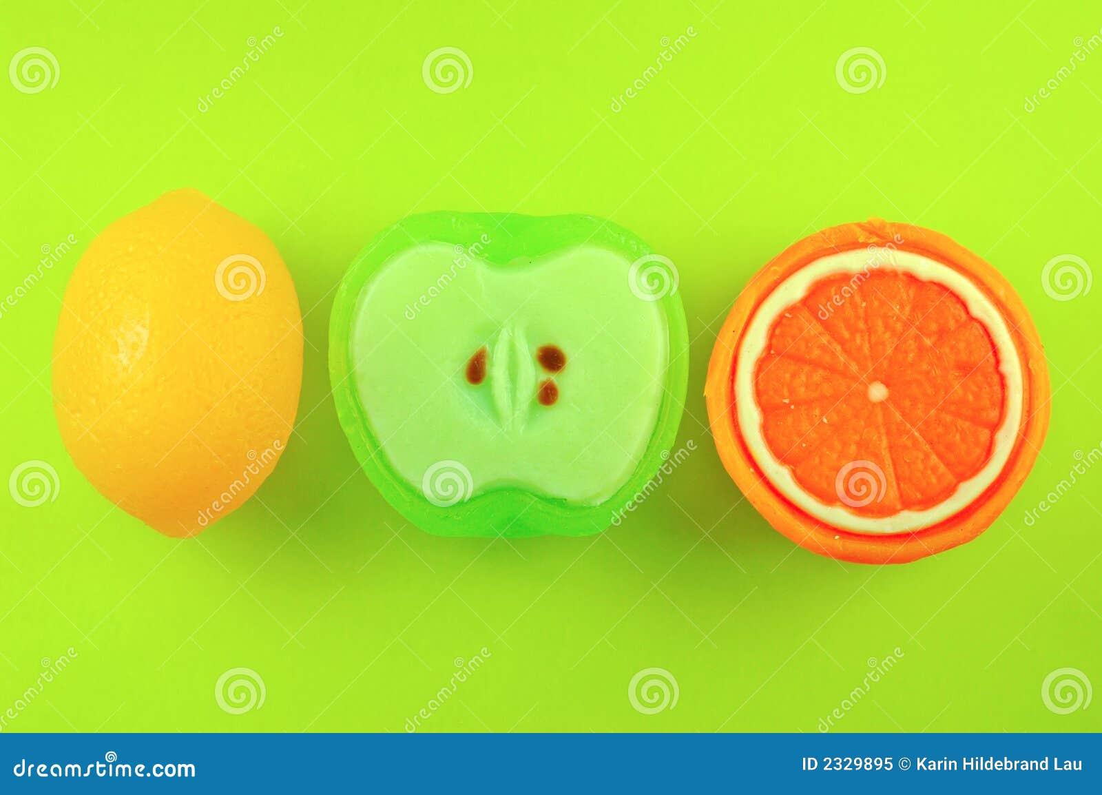 Sabões da fruta