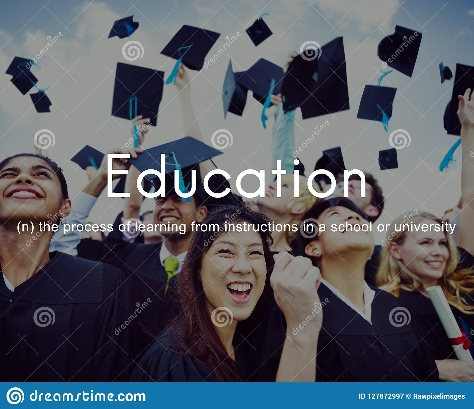 Sabedoria do conhecimento da educação que aprende estudando o conceito