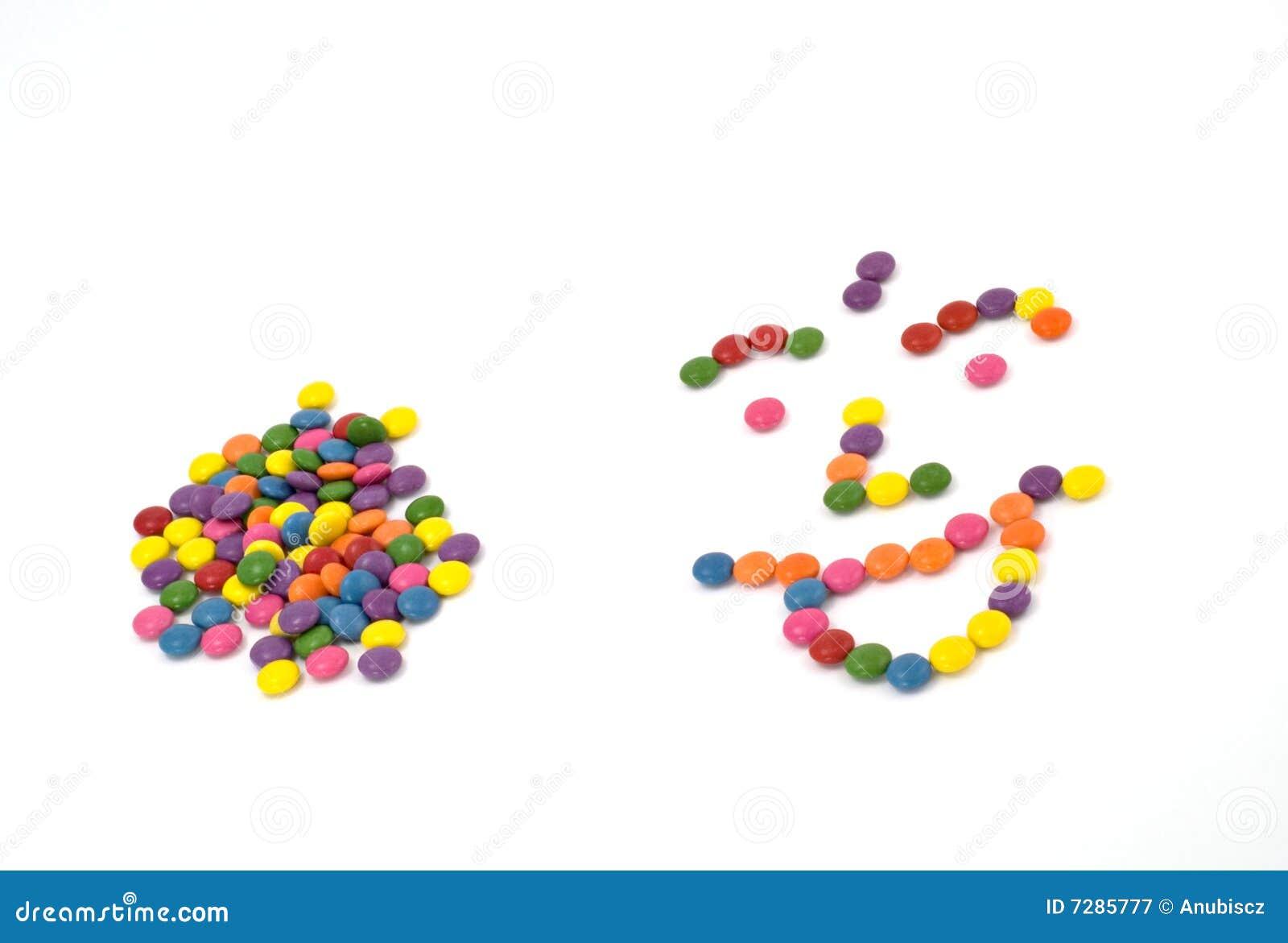 Sabelotodos dulces coloridos