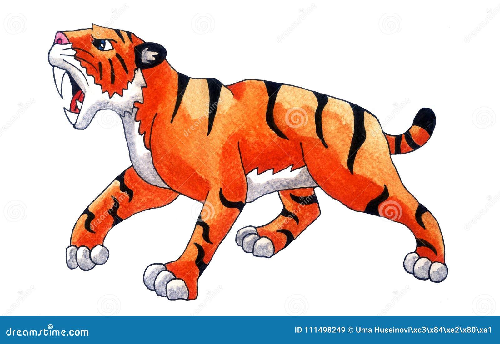 Saber zębu tygrys