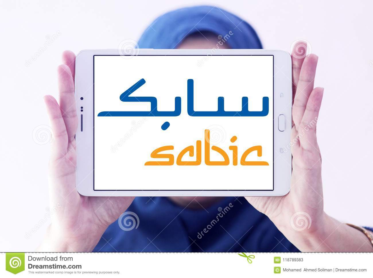 SABIC Chemicals Company Logo Editorial Stock Photo - Image
