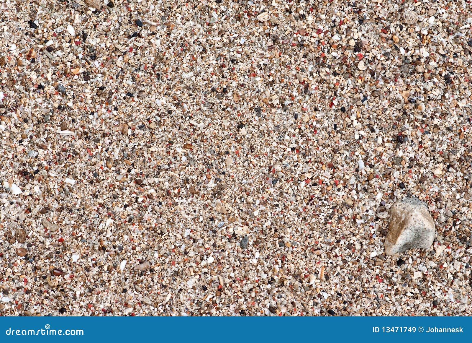 sable et gravier de bord de la mer image stock image du texture color 13471749. Black Bedroom Furniture Sets. Home Design Ideas