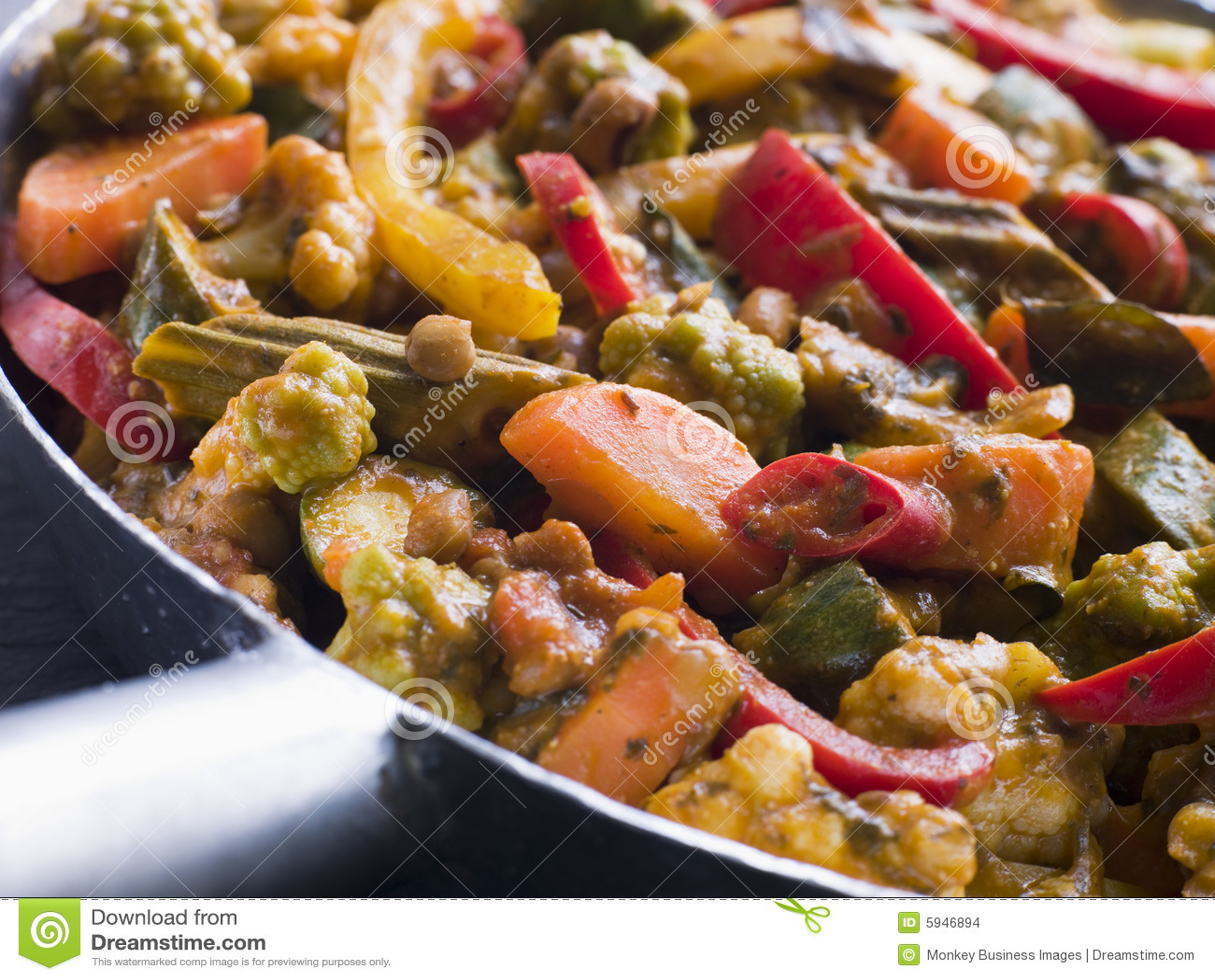 Sabzi Salan - curry di verdure