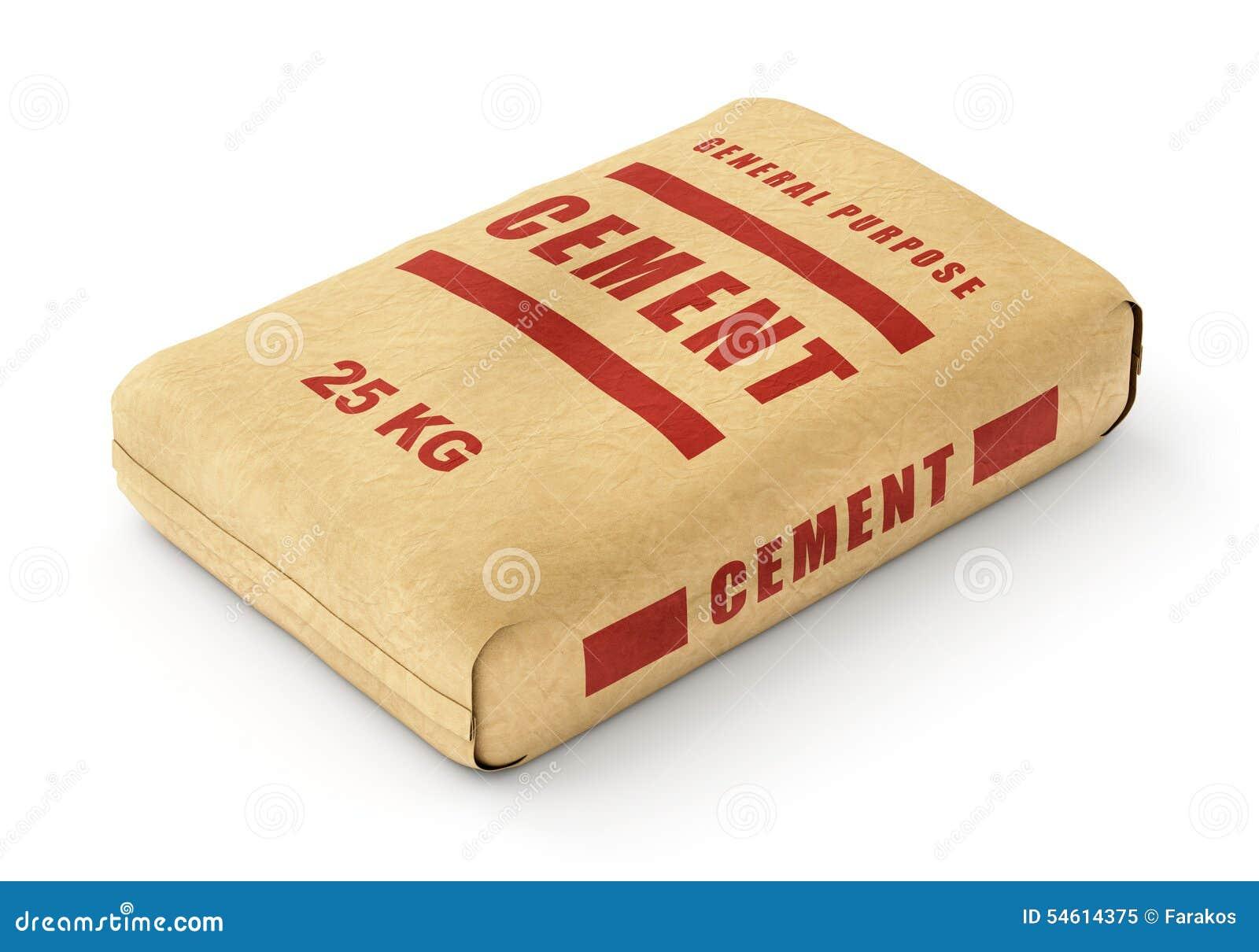 sac de ciment illustration stock image 54614375