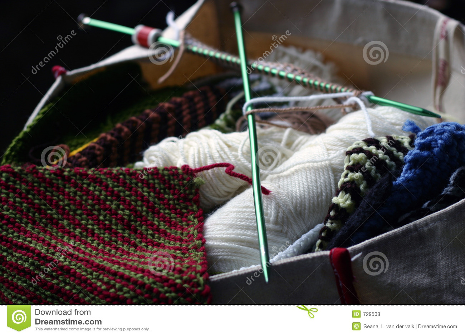 Sac de tricotage